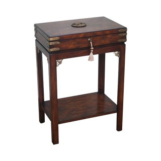 Theodore Alexander Althorp Mahogany Box Side Table
