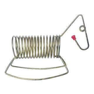 Vintage Brass Wire Rocking Horse Letter Holder