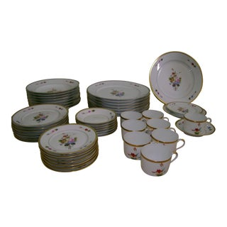 Chas Field Havilland Floral China Service - Set of 48