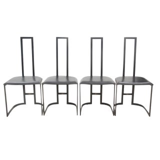 Italian Art Deco Chairs - Set of 4