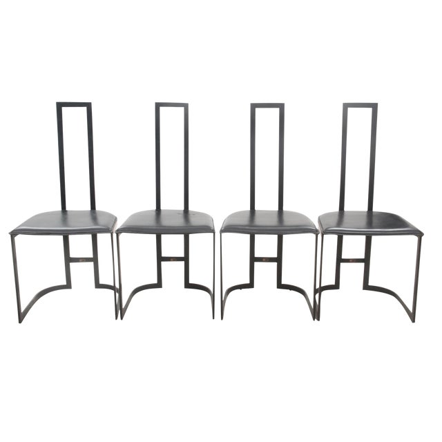 Italian Art Deco Chairs - Set of 4 - Image 1 of 7
