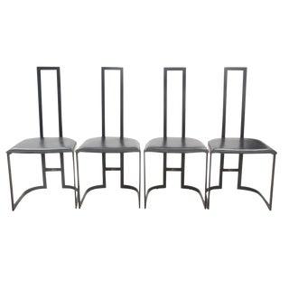 Italian Art Deco Chairs - Set of 4