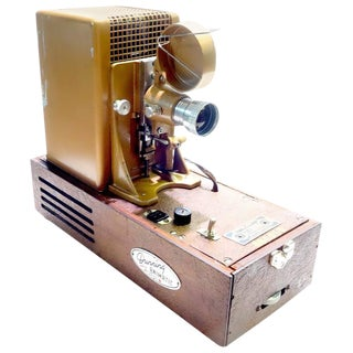 Animatic Film Projector, As Sculpture, Designed by Famous Beatles Animator Georg Dunning.