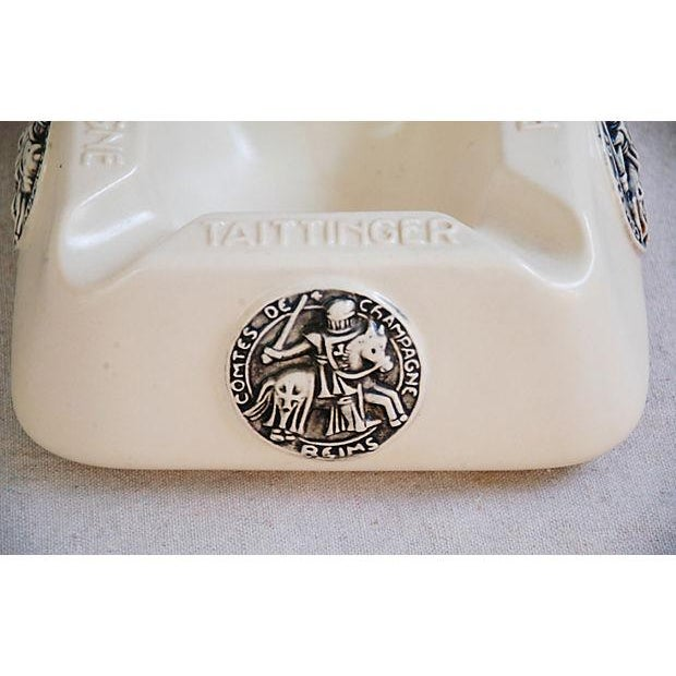French Taittinger Champagne Cigar Ashtray - Image 7 of 8