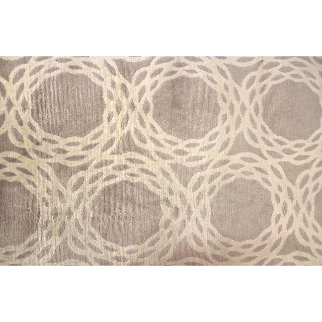 "Cococozy Tan ""Oxford"" Wool Rug - 8' x 11' - Image 4 of 9"
