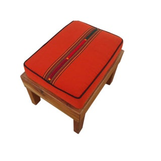 Small Square Bench Stool