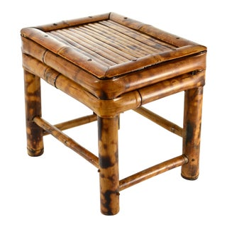 Bamboo Plant Stand