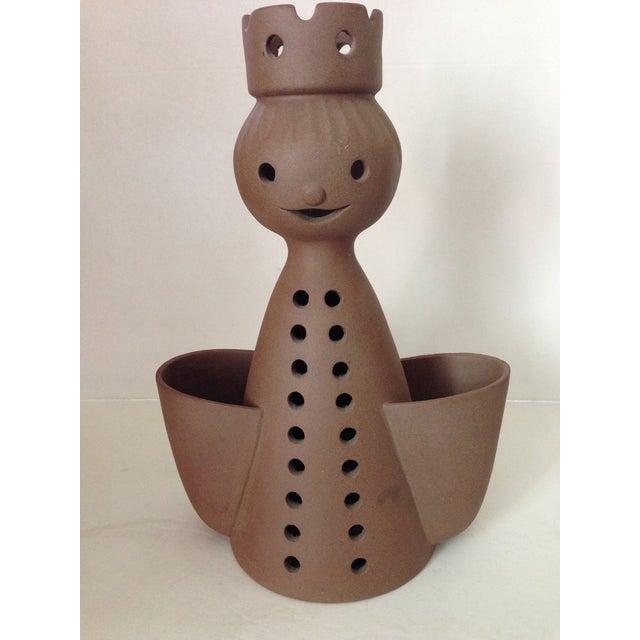 Image of Mid-Century Stoneware Designs Figural Planter