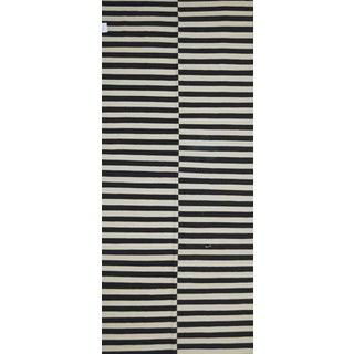 "Pasargad Art-Deco Style Wool Kilim - 5'5"" x 12'6"""