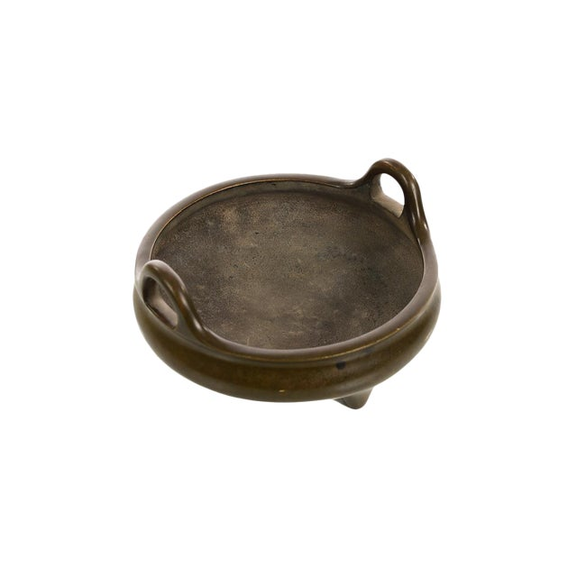 Chinese Patinated Bronze Censer - Image 1 of 7