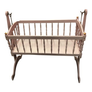 Baby Pink & Gold Cradle