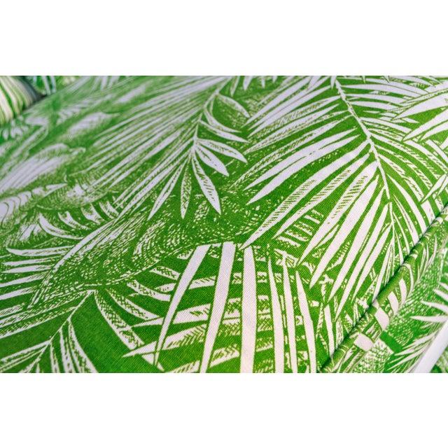 Ficks Reed Vintage Palm Leaf Sofa - Image 5 of 5