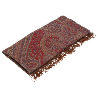 Rangoli Patterned Jammu Throw