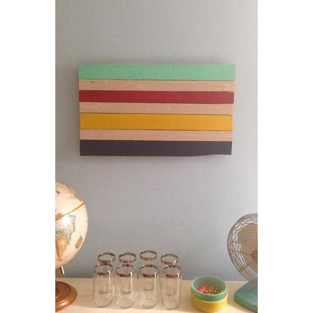 Reclaimed Wood Hudson Bay Inspired Art - Image 3 of 3
