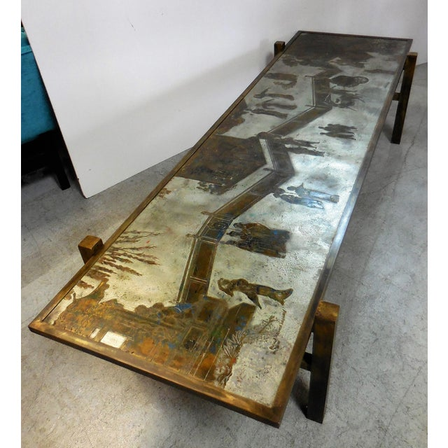 Stunning Tao Coffee Table by Philip and Kelvin LaVerne - Image 3 of 11