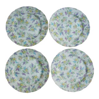 Lefton China Dessert Plates - Set of 4