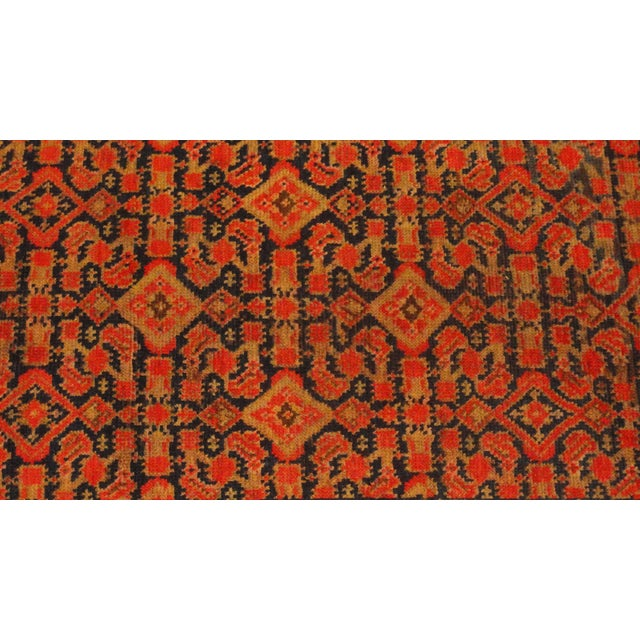 """Antique Persian Malayer Runner Rug - 3'3"""" x 15'4"""" - Image 2 of 4"""