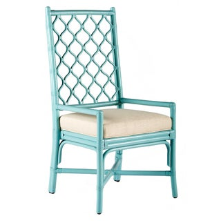 Selamat Designs Ambrose Blue Arm Chair