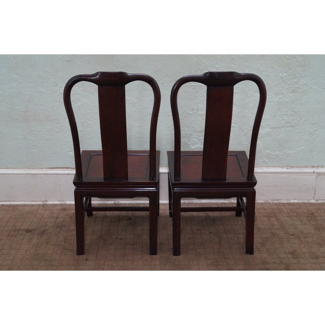 Image of Chinese Rosewood Dining Chairs - Set of 4