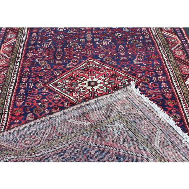 Image of Hand Knotted Persian Wool Area Rug 5′ × 10′