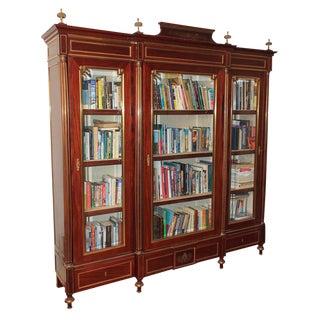 19th c. French Empire Bookcase