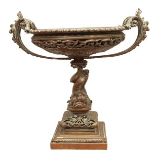 A Fine Louis XV Style Bronze Tazza or Coupe