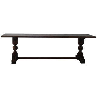 Spanish-Style Library Table