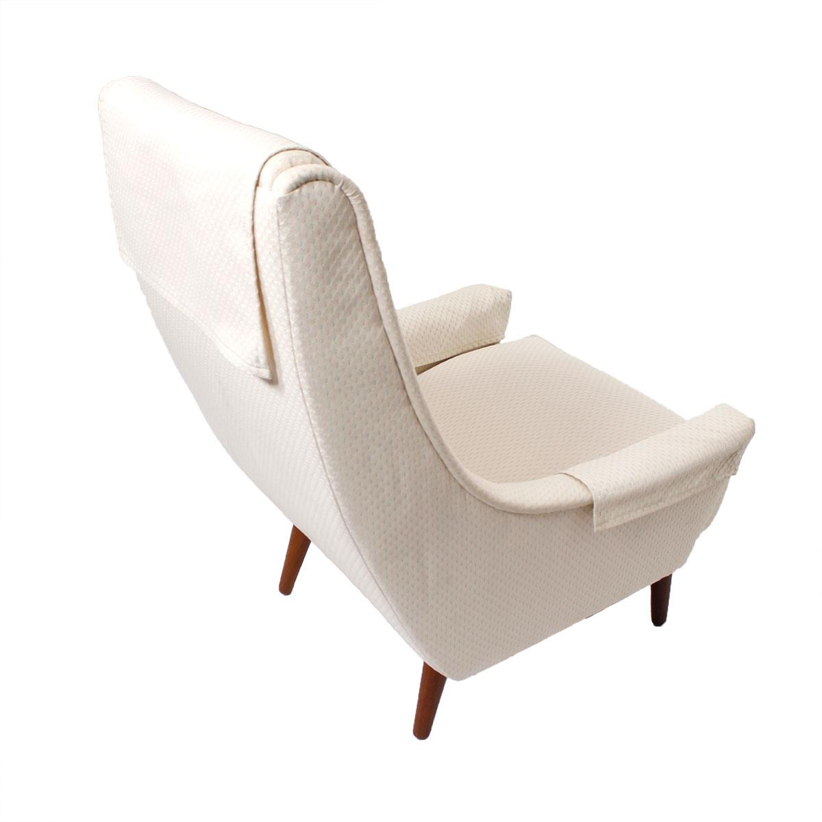 Danish Lounge Chair by Selig