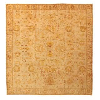 """Vintage Spanish Carpet - 17'2"""" x 16'2"""""""