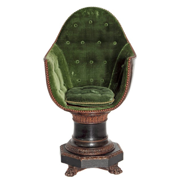 A Nineteenth Century Venetian Child's Gondola Chair - Image 11 of 11