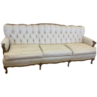 Broyhill Chesterfield French Provincial Sofa