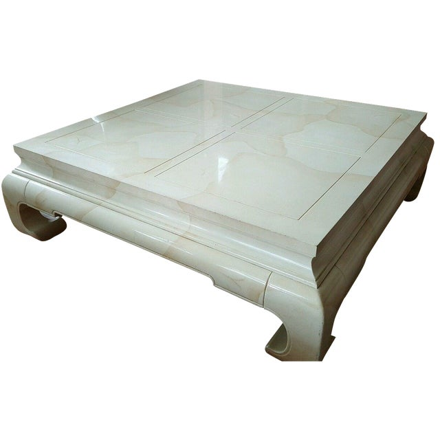 Vintage Ming Style Coffee Table by Henredon - Image 1 of 5