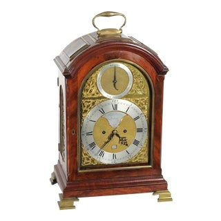 Eardley Norton (1728-1792) Mahogany 8 day Table Clock