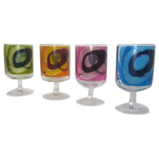 Leonardo Retro Crystal Glasses- Set of 4