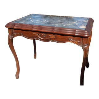 19th Century Marble Top Occasional Table