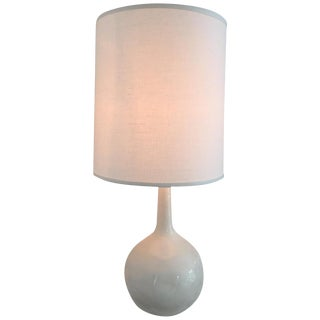Canvas Home White Ceramic Lamp