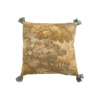 'Whidbey Fancy' Landscape Linen Pillow