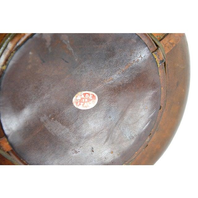 Image of Vintage Italian Leather Liquor Decanter