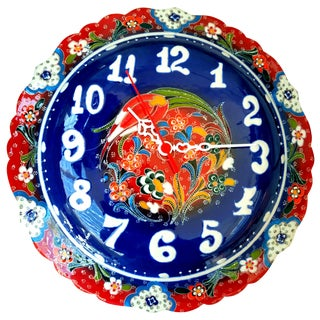 Whimsical Handmade Wall Clock