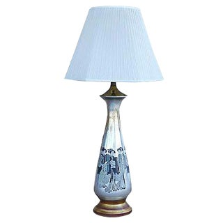 Chinoiserie Eglomise Table Lamp