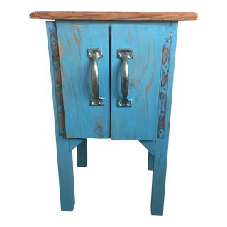 Rustic Reclaimed Wood Nightstand