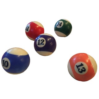 Bakelite Snooker Billiard Balls - Set of 16