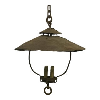 Rustic Carriage Light
