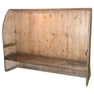 Beautiful Antique Settle Bench