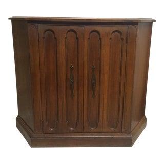 Vintage Foyer Cabinet