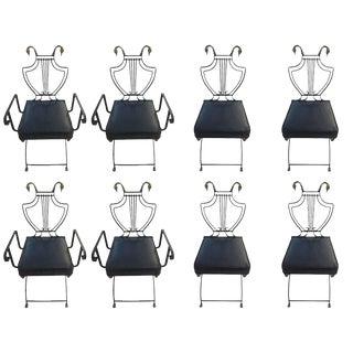 Maison Jansen Metal Chairs - Set of 8