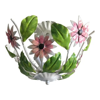Italian Daisies Ceiling Light