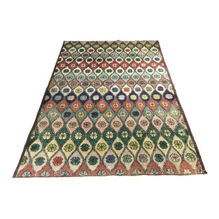 "Bellwether Rugs Vintage Distressed Turkish Zeki Muren Rug - 4'8"" x 6'11"""