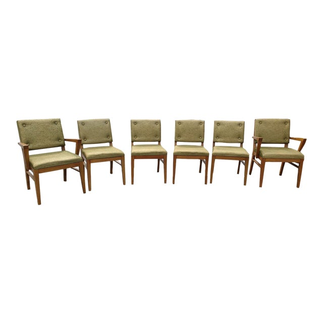 Mid-Century Dining Chairs - Set of 6 - Image 1 of 6