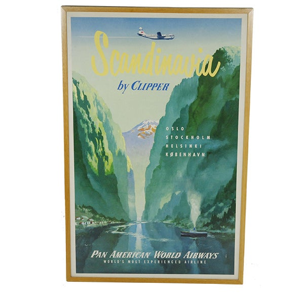 Scandinavia Pan America Poster/Picture - Image 1 of 2